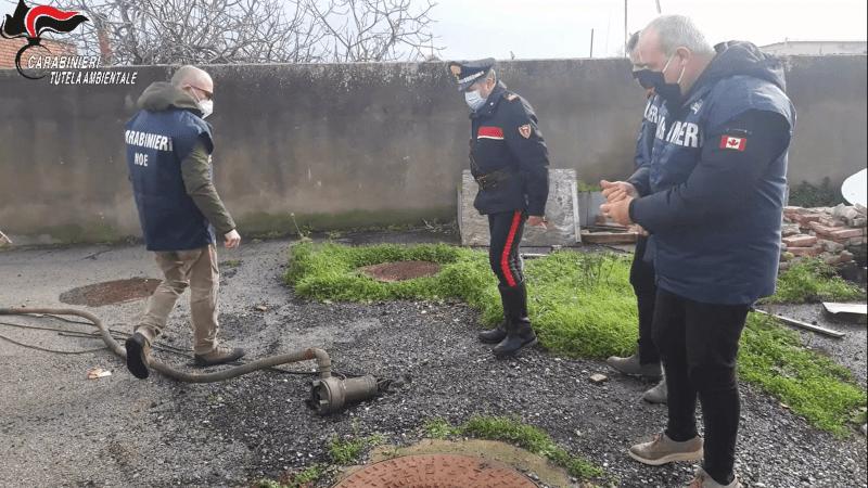 Torre Annunziata, scarichi abusivi al Polo nautico: sequestri dei Carabinieri del Noe