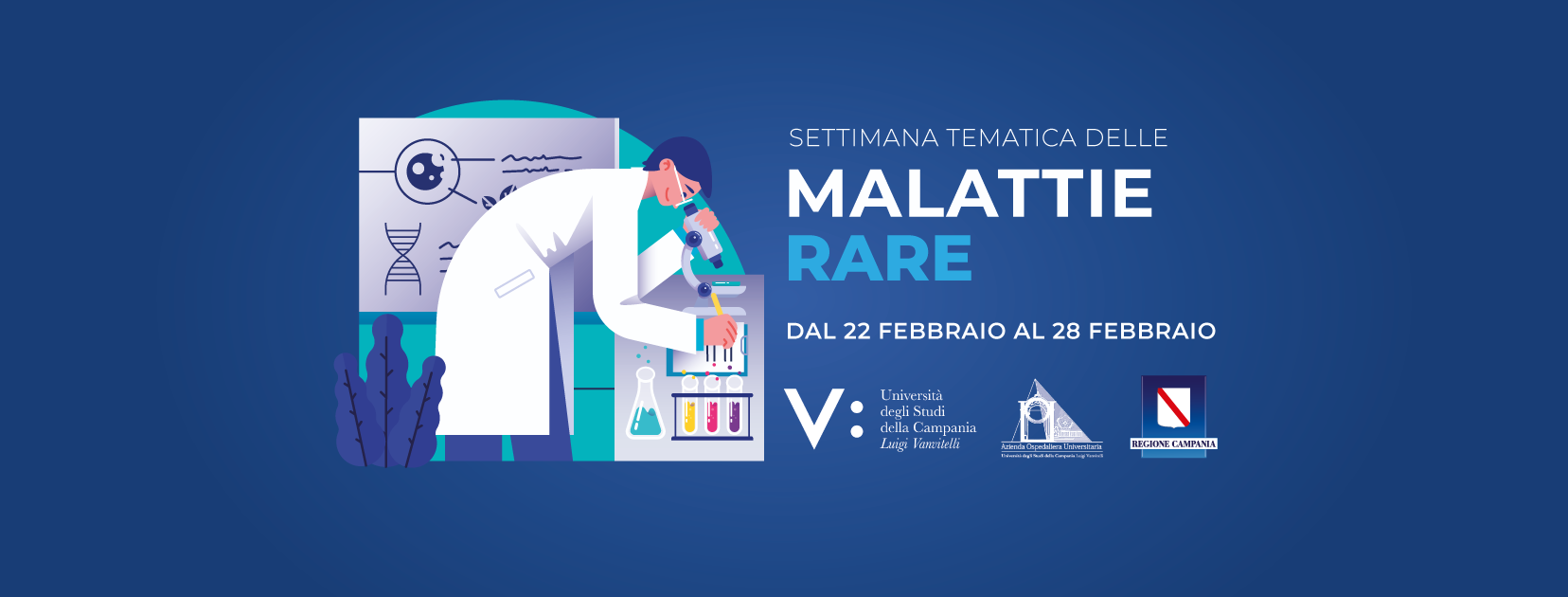 "Malattie rare: al via la campagna informativa del Policlinico ""Luigi Vanvitelli"""