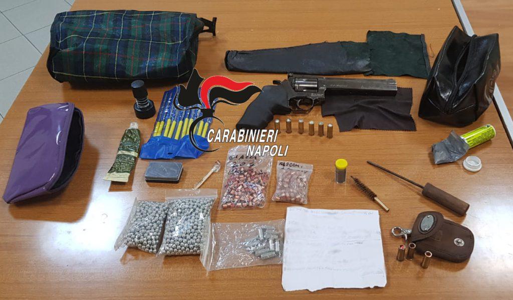 Castellammare di Stabia, pistola modificata per sparare