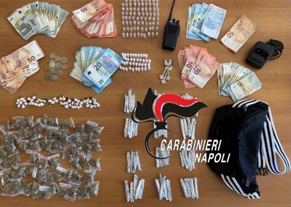 Arzano e Caivano: Carabinieri arrestano un 32enne e un 21enne per spaccio di droga