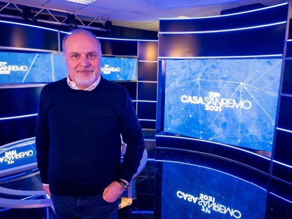 Casa Sanremo: taglio del nastro dedicato alle maestranze dello spettacolo