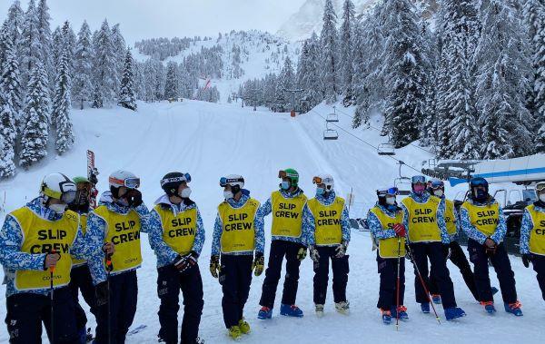 Cortina 2021: 33 ragazzi campani curano le piste del Mondiale di sci alpino