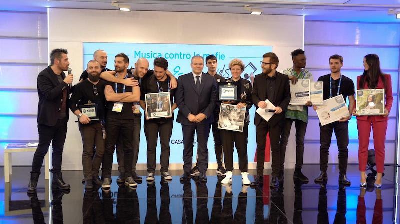 Musica contro le Mafie a Sanremo 20121 premia i vincitori della 11° Edizione