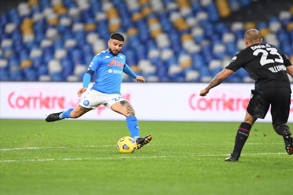 Calcio Napoli, Insigne miglior giocatore di marzo in Serie A