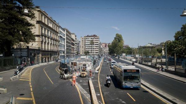Napoli, Linea 6 metropolitana: si riasfalta la Riviera di Chiaia