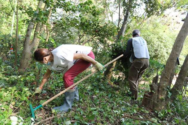 Sessanta volontari in azione per la cura del verde nella Villa Floridiana