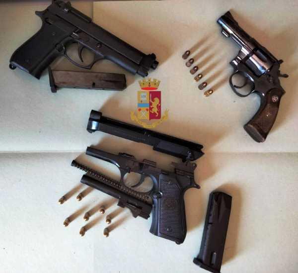 Ponticelli: Arrestati due giovani con armi pronte a sparare. I NOMI