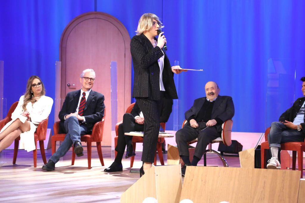 Maria De Filippi ospite al Maurizio Costanzo Show, ma è Vincenzo De Lucia