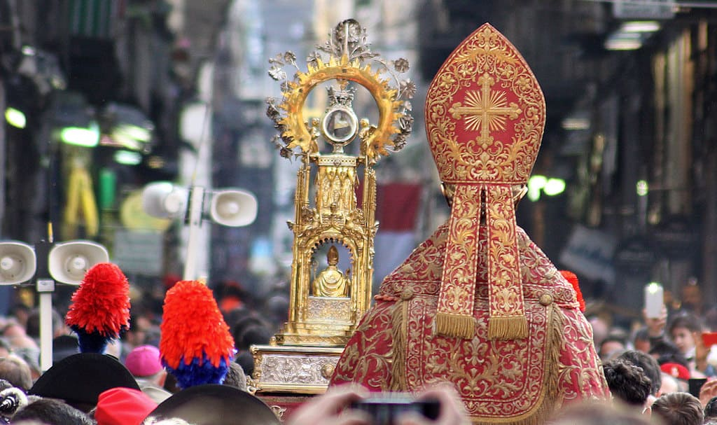 Processione di San Gennaro annullata per il Covid