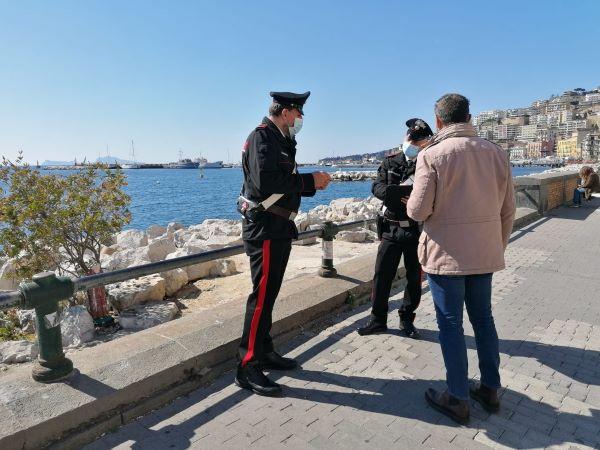 Controlli anti Covid 19 a Napoli e provincia: a Pasqua e Pasquetta 309 multe