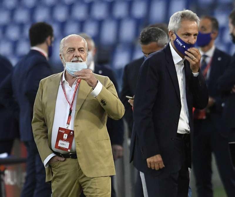 Calcio Napoli e altri 6 club chiedono dimissioni di Dal Pino