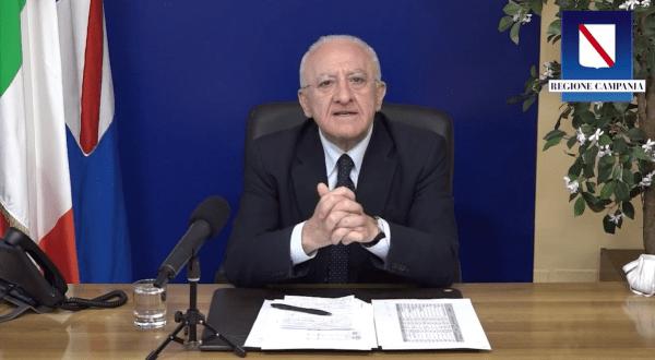 """Covid 19, De Luca: """"Criteri demenziali del Governo a livello nazionale"""" (VIDEO)"""