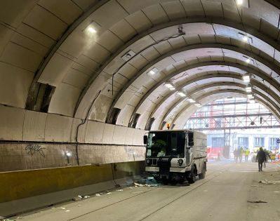 Il sopralluogo, possibile dopo il dissequestro dell'infrastruttura, è stato organizzato per monitorare lo stato della Galleria Vittoria e condividere le prossime attività.