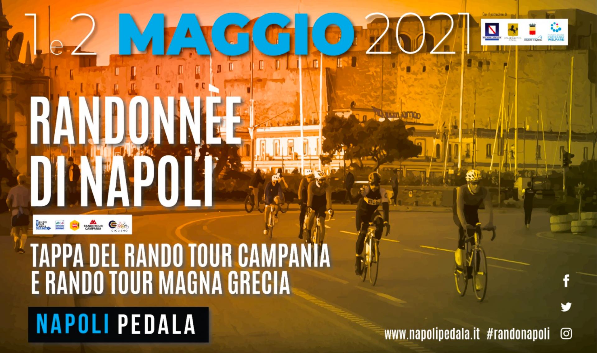 Napoli Bike Festival 2021: 1 e 2 Maggio con la Randonnée di Napoli