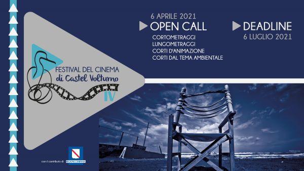Festival del Cinema di Castel Volturno 2021: ecco il bando per la IV edizione