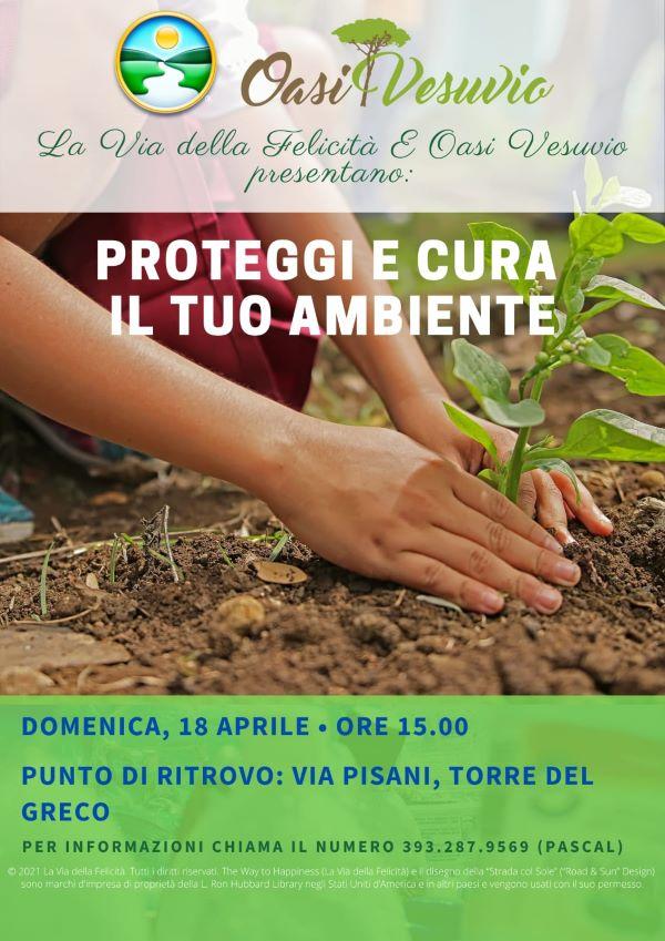 Parco Nazionale del Vesuvio: iniziativa di Oasi Vesuvio e La Via della Felicità per piante e alberi