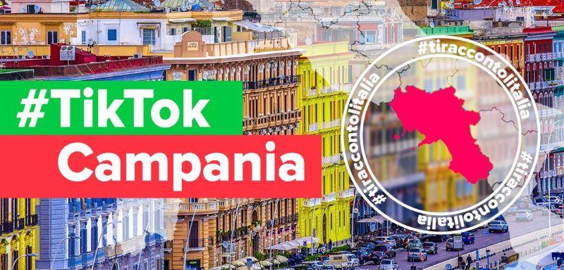 TikTok: la Campania sarà la prima tappa di Ti racconto l'Italia