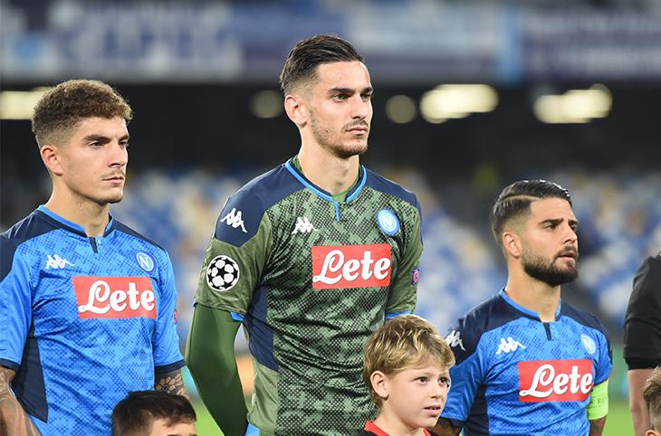 Calcio Napoli: Insigne, Di Lorenzo e Meret negativi al Covid