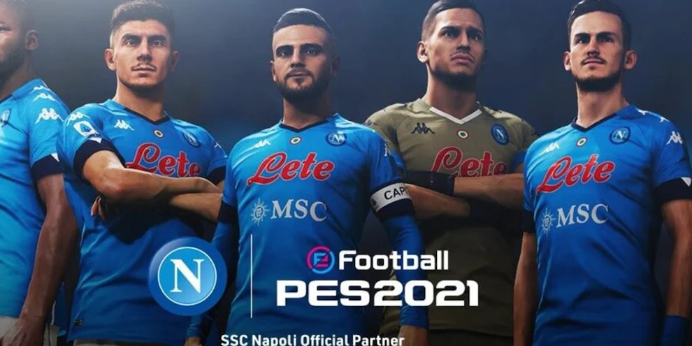 Calcio Napoli, annunciata nuova partnership con Konami