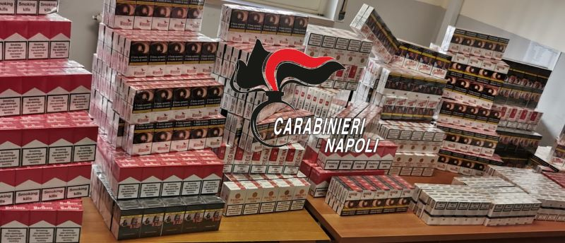 Ponticelli, 2120 pacchetti di sigarette di contrabbando in casa: 31enne arrestato (IL NOME)