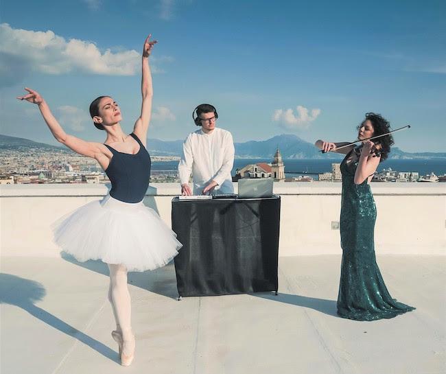 La ballerina solista del Teatro San Carlo incontra i KamAak