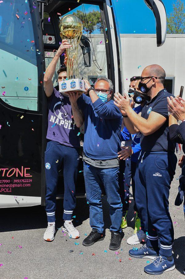 La Gevi Napoli Basket ritorna al PalaBarbuto con la Coppa Italia