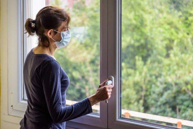 Covid, è importante aprire le finestre contro il contagio