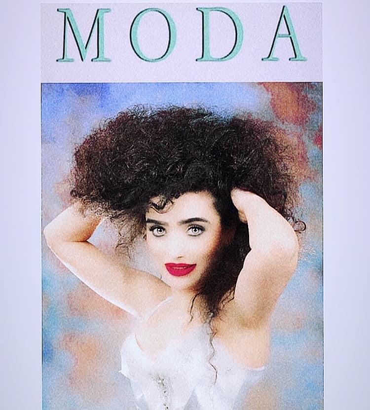 Maria Pia Garofalo musa ispiratrice per alcune rivista di moda