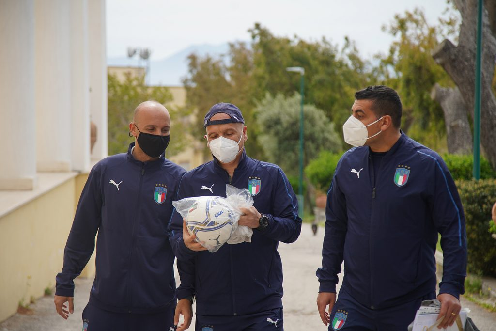 """""""Sport e Legalità"""" all'Istituto Penale Minorile di Nisida inaugurato il campo regolamentare di Calcio a 5"""