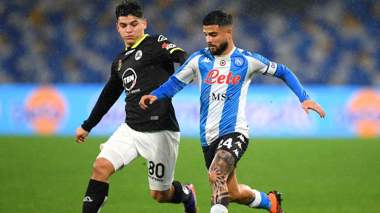 Calcio Napoli, contratto di Insigne una priorità