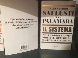 "Sallusti e Palamara al Teatro Sannazaro per presentare ""Il Sistema"""