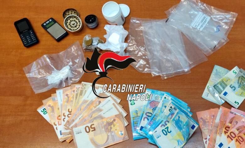 Qualiano, nascondeva la droga in lavatrice: arrestato 36enne