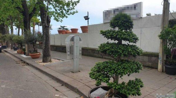 Posillipo: fioraio occupa un intero marciapiede. Denunciato e sequestrate oltre 3300 piante