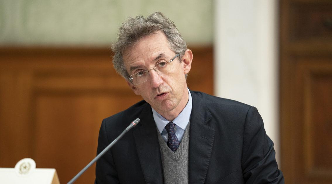 Gaetano Manfredi candidato sindaco centrosinistra a Napoli