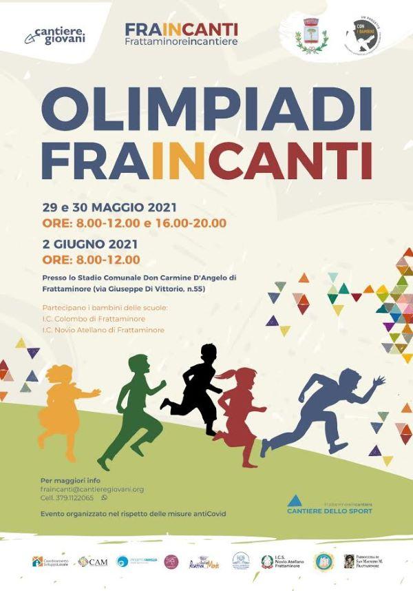 Frattaminore, ecco le Olimpiadi Fraincanti: tre giorni di sport, musica, danza e condivisione