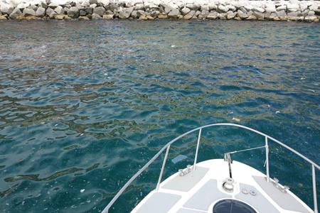 Schiume in acque Lungomare di Napoli, arrivano primi risultati