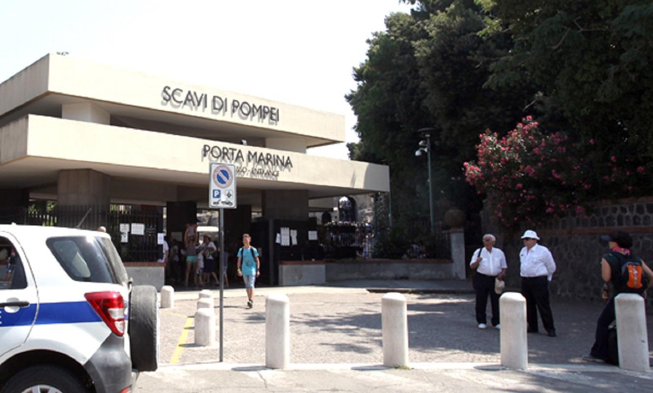 Pompei, turista scippato: dopo 2 anni preso anche complice