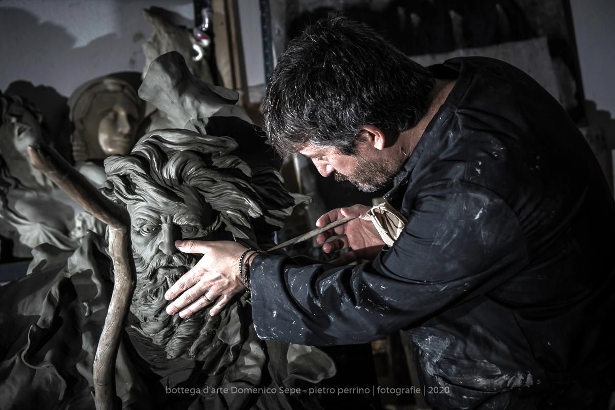 Al Pan lo scultore Domenico Sepe e la nuova pubblicazione di Daniela Marra