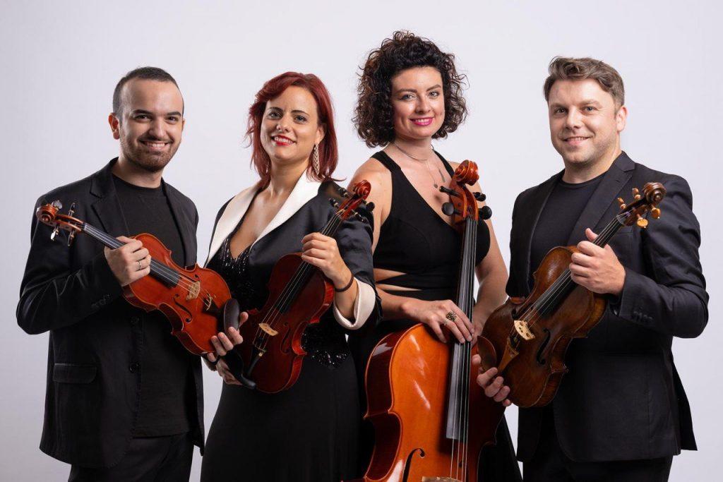 Associazione Scarlatti, a Villa Pignatelli il Quartetto Mitja e il violista Francesco Solombrino