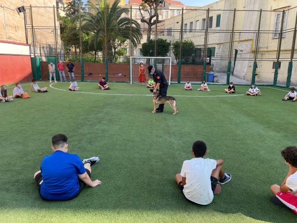 Apertura campi estivi a Napoli: Carabinieri e Asso.Gio.Ca. insieme per i giovani