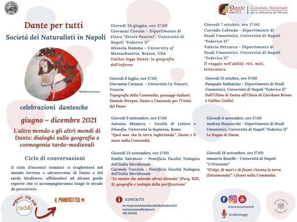 A Napoli Dante per tutti, il programma delle iniziative per celebrare le sue opere