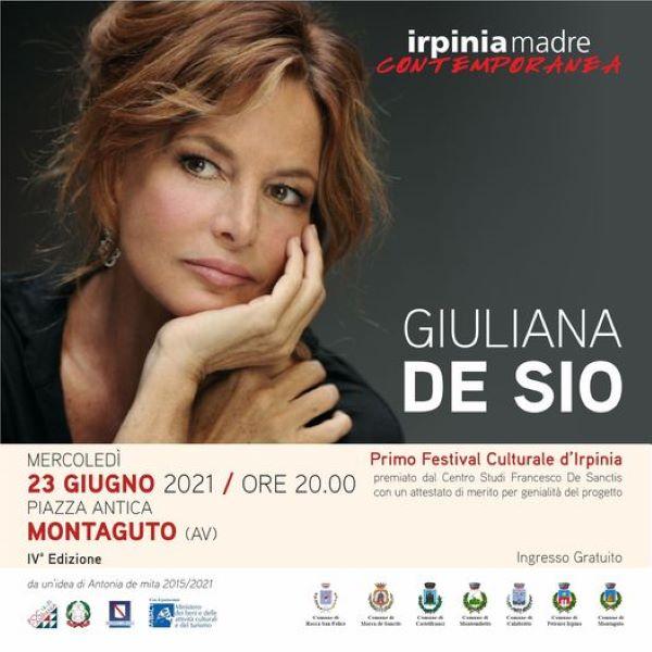 Irpinia Madre Contemporanea: Giuliana De Sio omaggia Giambattista Basile
