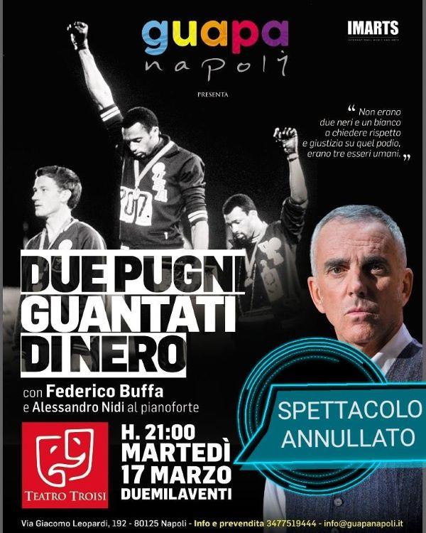 Teatro Troisi, annullato lo spettacolo di Federico Buffa: le ragioni di GuapaNapoli
