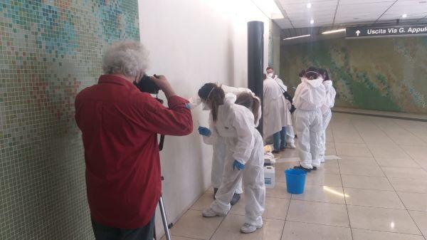 Stazioni dell'arte a Napoli: al via il restauro delle opere d'arte
