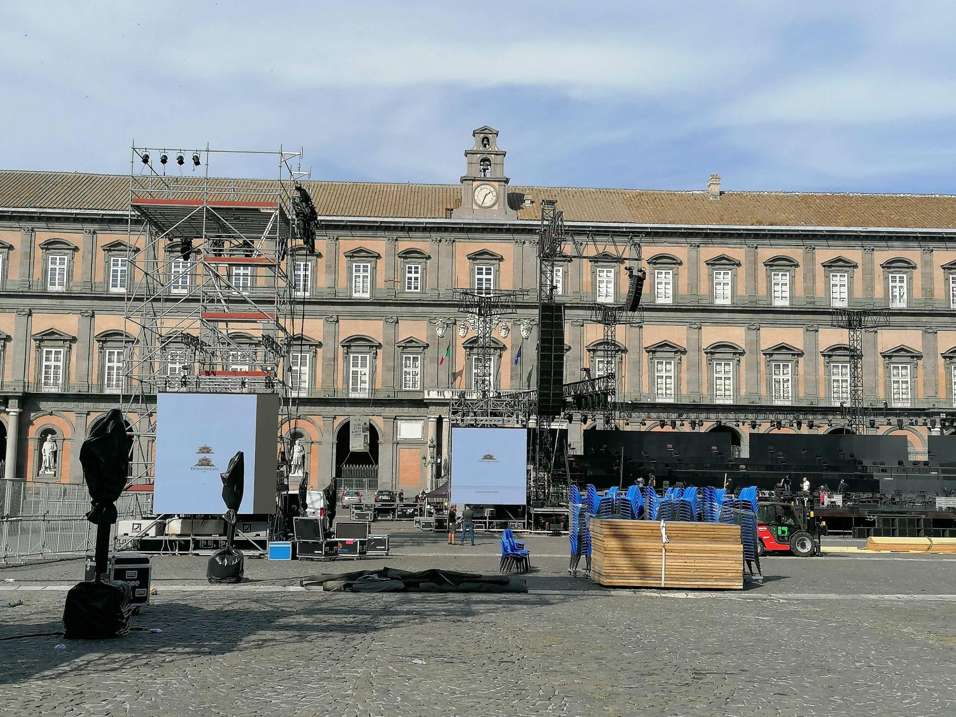 Teatro San Carlo, quasi tutto esaurito per la prima di Carmen il 25 giugno a Piazza del Plebiscito