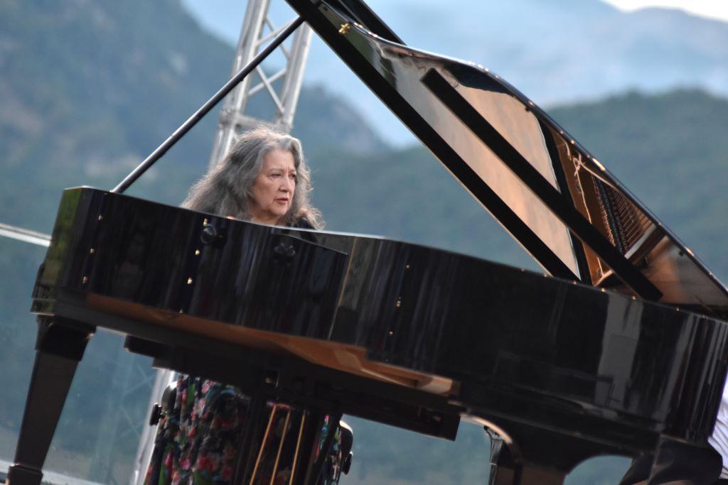 Sold out per il ritorno di Martha Argeri sul Belvedere di Villa Rufolo, a Ravello