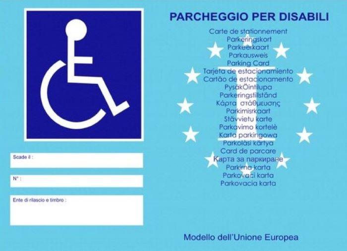 Ecco il nuovo pass disabili: sarà valido nelle Ztl di tutti i Comuni d'Italia