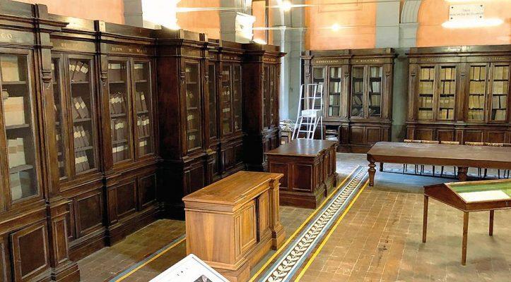 Napoli: Consiglio Notarile nella Sala Filangieri dell'Archivio di Stato