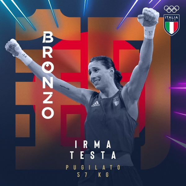 Tokyo 2020, Irma Testa bronzo nei Piuma: prima medaglia olimpica per la boxe femminile italiana