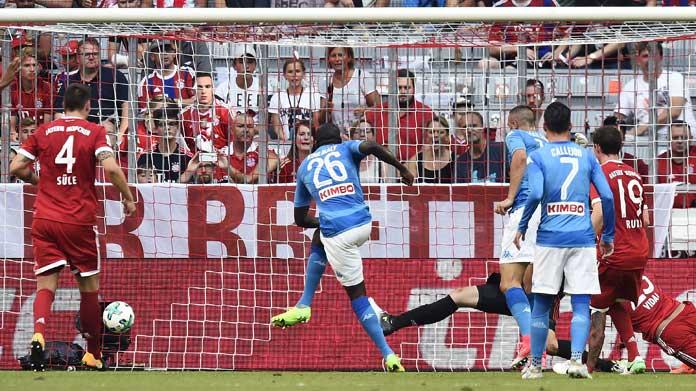 Calcio Napoli, col Bayern il 31 luglio: info sui biglietti